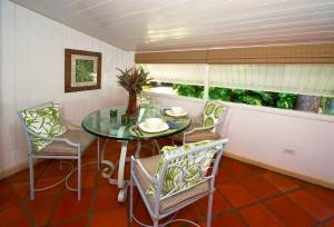 Little Seascape Barbados dining inside