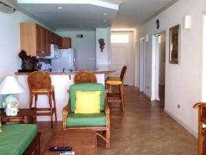 Maxwell Beach Villas 503 living room