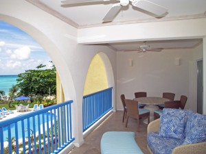 Maxwell Beach Villas 203 balcony