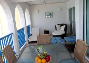 Maxwell Beach Villas 403 balcony