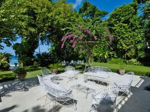 Mango Bay villa terrace
