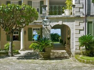 Entrance to Mango Bay