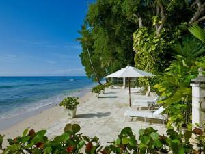Mango Bay beach front terrace