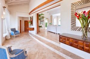 Marsh Mellow villa entry foyer
