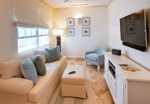 Howzat Ocean Drive villa media room