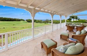 Howzat Ocean Drive villa view