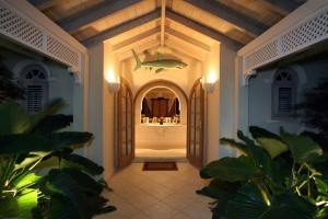 Oceana-Barbados-vacation-villa-rental-entrance
