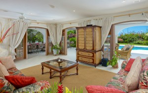Oceana Barbados villa sitting room