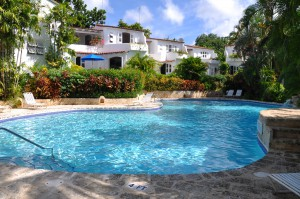 Shared swimming pool Merlin Bay
