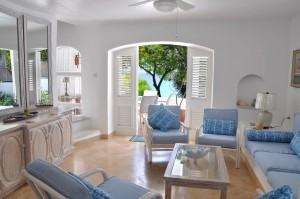 Sitting room with ocean views