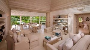 Pink Cottage interior