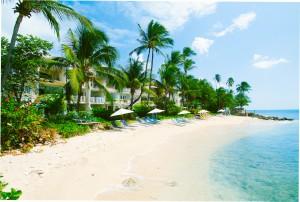 Reeds House Barbados beach