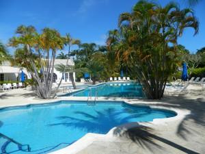 Royal Apartment 121 Barbados Sanctuary pool