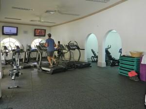 Royal Apartment 121 Barbados gym