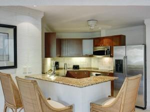 Royal Apartment 121 Barbados kitchen