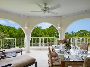Royal Apartment 121 Barbados main balcony