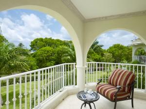 Royal Apartment 121 Barbados balcony