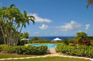 San Flamingo villa view