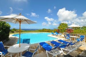 San Flamingo villa view pool