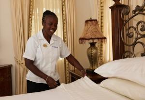 Sandalwood's housekeeper