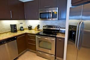 Sapphire Beach 509 Barbados kitchen
