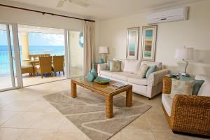 Sapphire Beach 509 Barbados livingroom