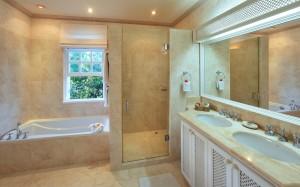 Saramanda villa rental Barbados bathroom 1