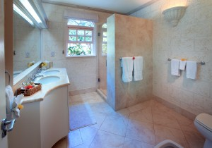 Saramanda villa rental Barbados bathroom 2
