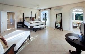 Saramanda villa rental Barbados bedroom 1