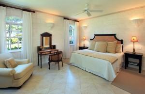 Saramanda villa rental Barbados bedroom 2