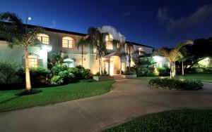 Saramanda villa rental Barbados exterior