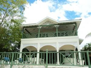 Sea Haven villa Barbados rear