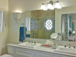 St Helena villa Barbados bathroom