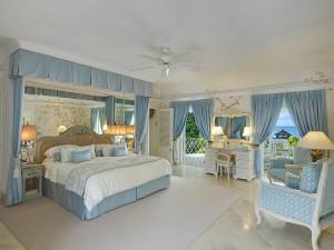 St Helena villa Barbados master bedroom