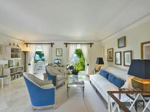 St Helena villa Barbados study upstairs