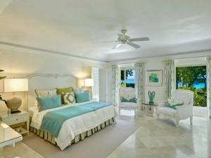 St Helena villa Barbados bedroom