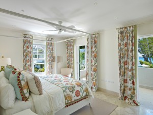 St Helena villa Barbados cottage bedroom