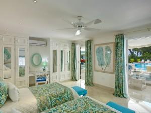 St Helena villa Barbados cottage bed