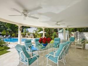 St Helena villa Barbados cottage patio