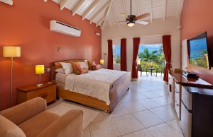 Sundown villa Barbados master bed