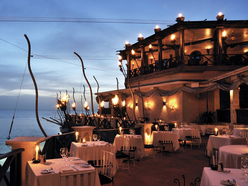 The Cliff Restaurant, St James