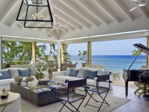 The Dream villa upstairs living area