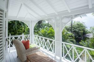 The Great House bedroom balcony