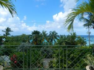 Tradewinds villa Barbados view