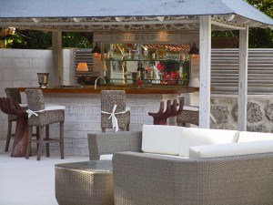 Villa Melissa Barbados pool bar