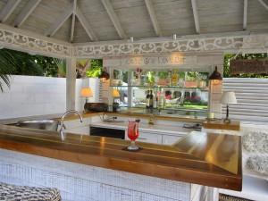 Villa Melissa Barbados bar