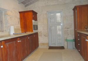 Villa Melissa Barbados cottage kitchen