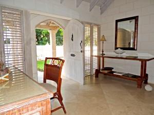 Villa Melissa Barbados entrance