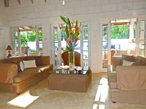 Villa Melissa Barbados living room