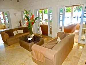 Villa Melissa Barbados living room